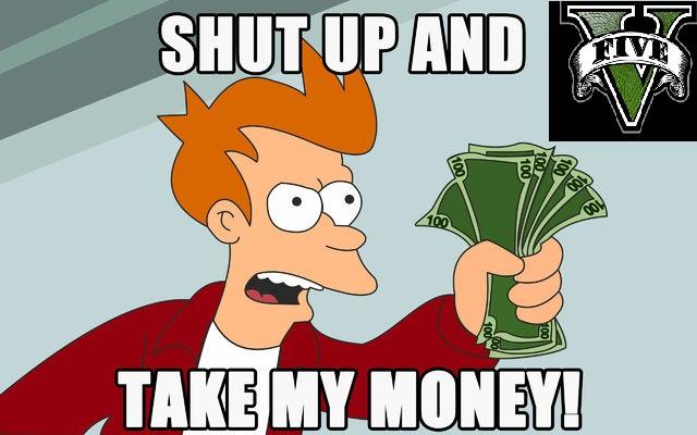 GTAV take my money (pero luego no te quejes)