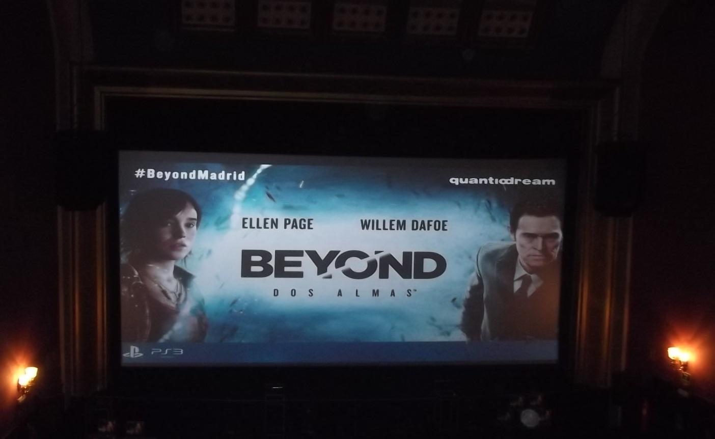 Presentación Beyond: Dos almas