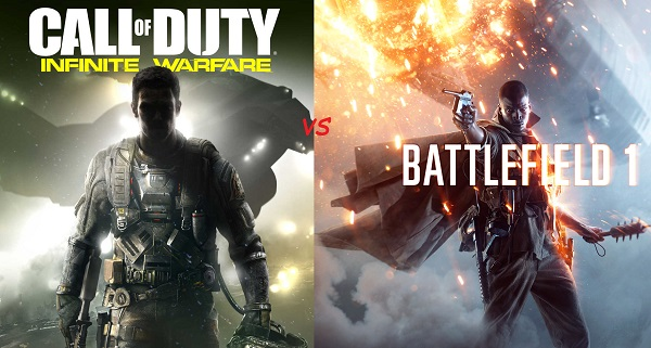 Call of Duty vs Battlefield, la batalla del 2016
