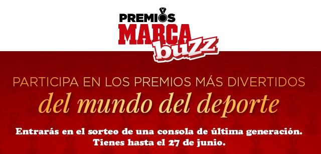 """MarcaBuzz.com celebra su Primer Aniversario organizando los """"Premios más divertidos del mundo del deporte"""""""