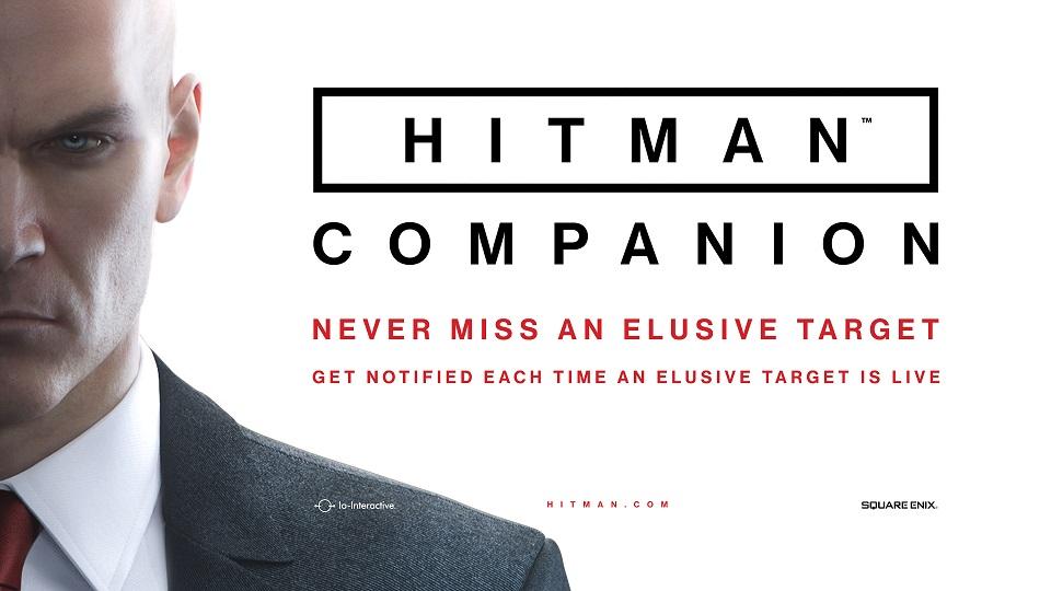 Anunciada la Companion App de Hitman- Adelanto del nuevo Objetivo Escurridizo