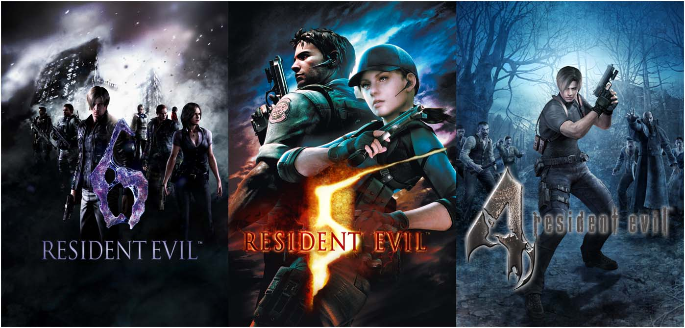 Capcom anuncial el lanzamiento en tiendas de las versiones HD de Resident Evil 4,5 y 6.