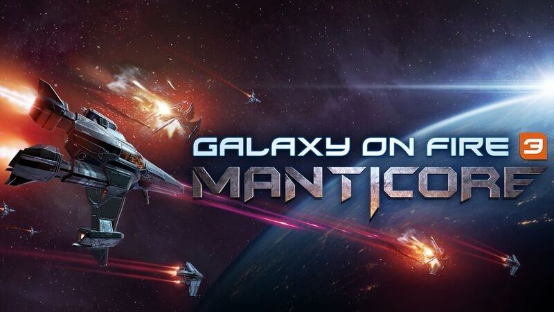 Galaxy on Fire 3 – Manticore ya disponible para iOS en la APP Store