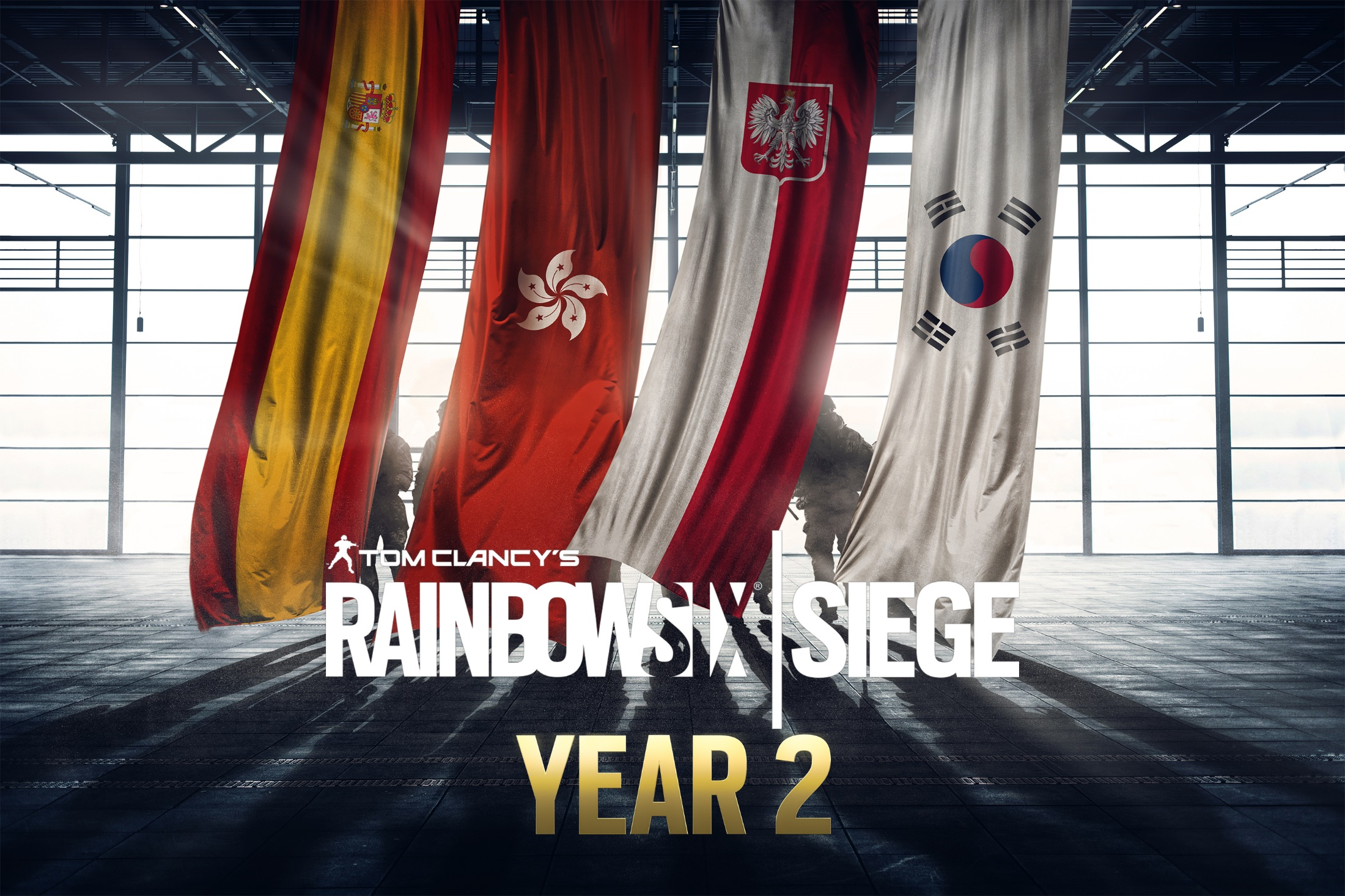 Ya disponible el pase de temporada del año 2 de Rainbow Six Siege
