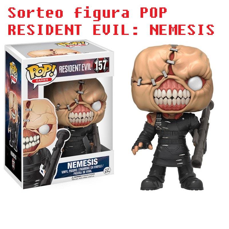 Sorteo figura POP RESIDENT EVIL: NEMESIS