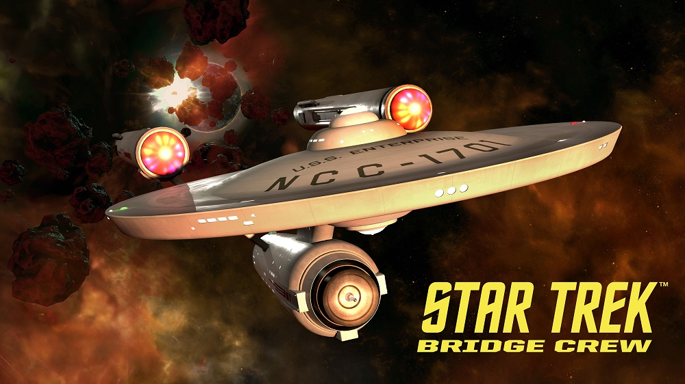 El puente de mando original de la Enterprise estara disponible en Star Trek: Bridge Crew (realidad virtual)
