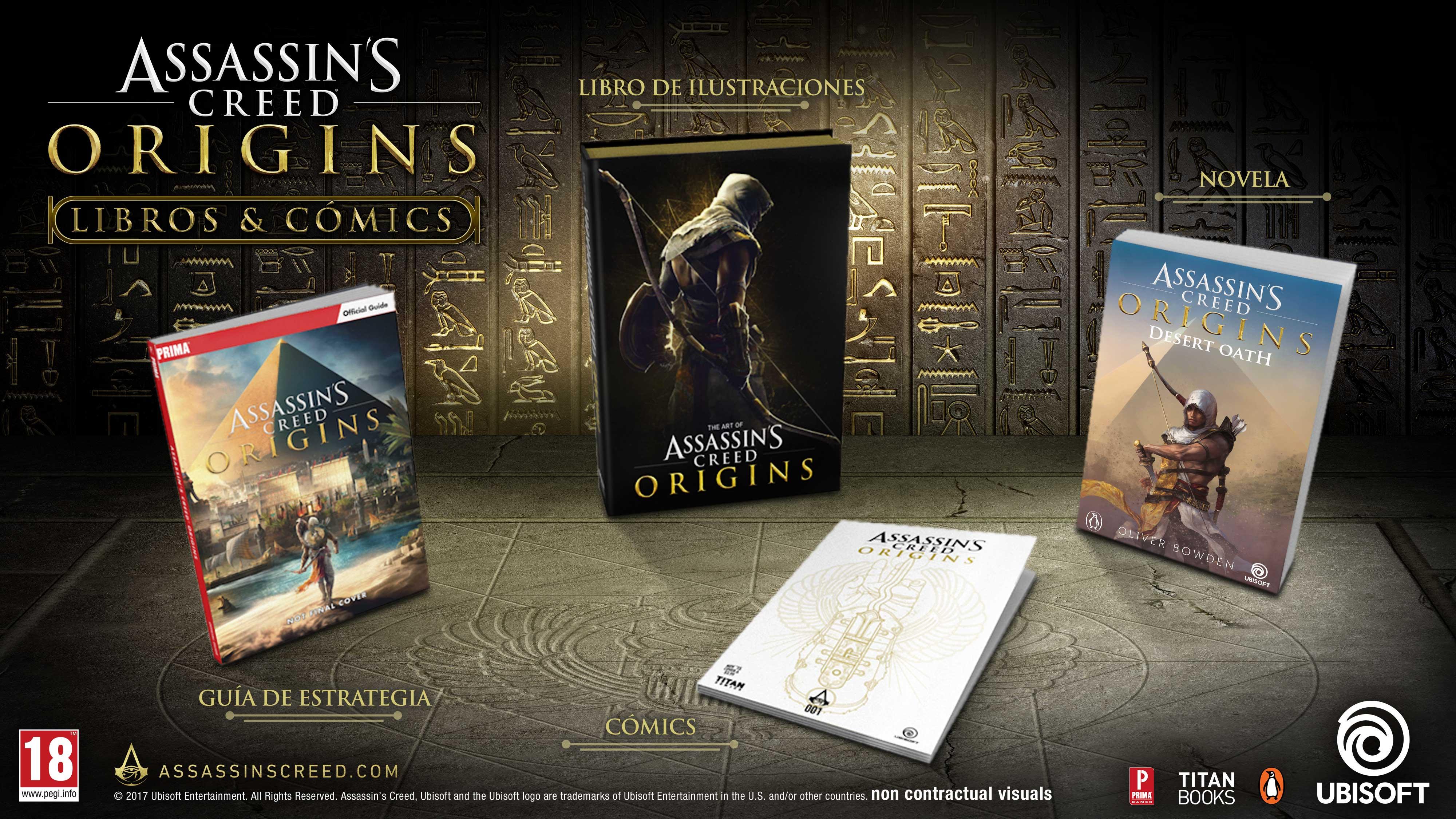 Assassin's Creed Origins se expande mas allá del videojuego