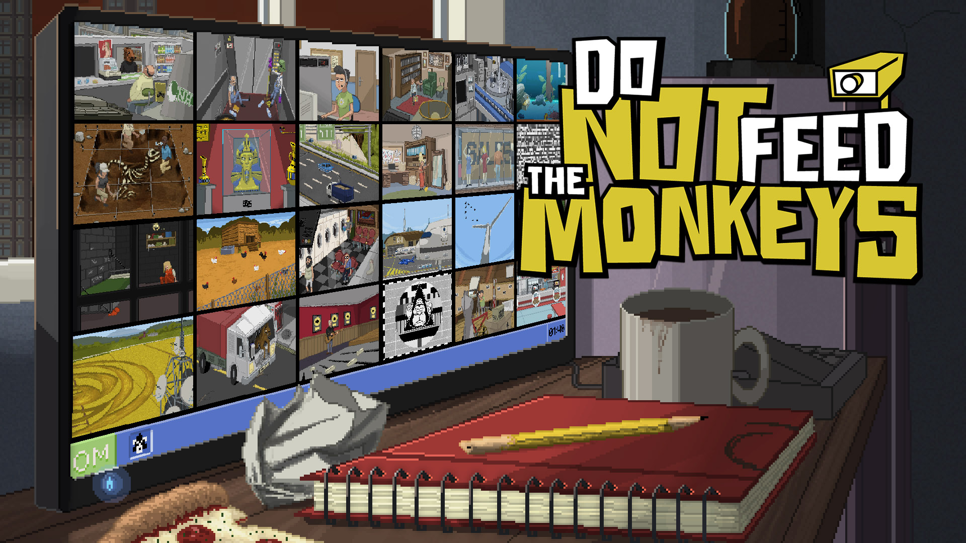 Do Not Feed the Monkeys llegara a Steam el próximo otoño