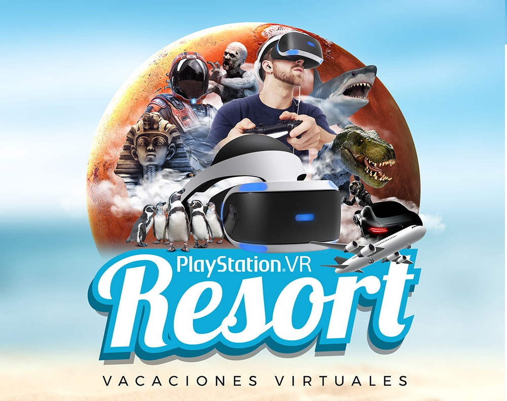 PlayStation VR Resort:  vacaciones virtuales en el centro de Madrid