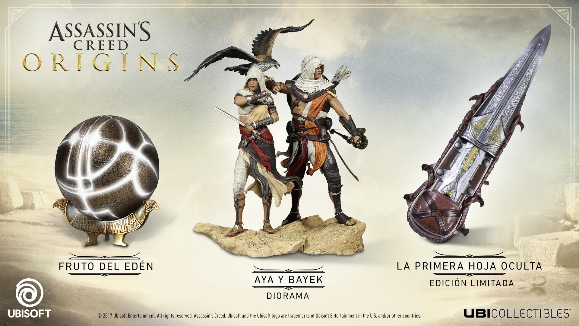 Ya puedes reservar las nuevas figuras coleccinables de Assassin´s Creed Origins