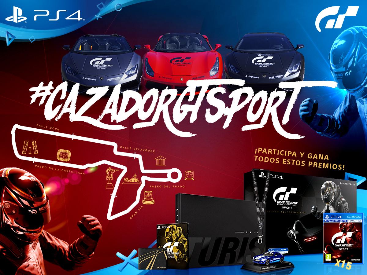 Gran Turismo Sport invade Madrid con sus supercoches #CazadorGTSport