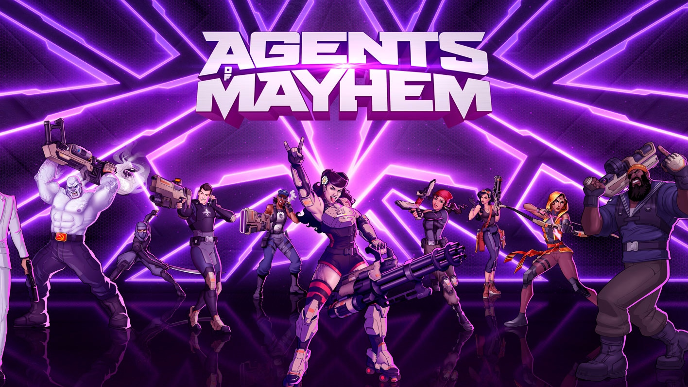 No somos santos, somos Agents of Mayhem