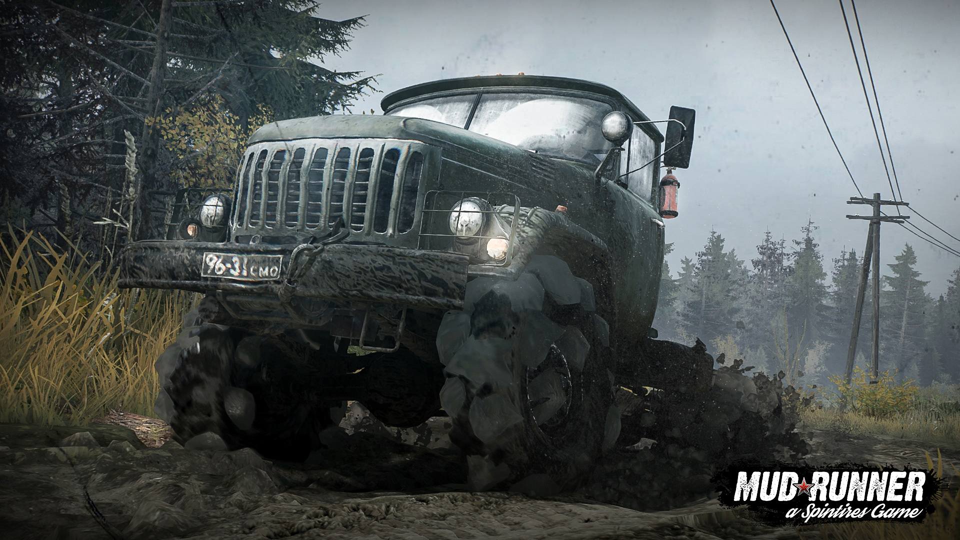 Spintires: MudRunner estará disponible en edición física para PC, PS4 y Xbox One el 31 de octubre