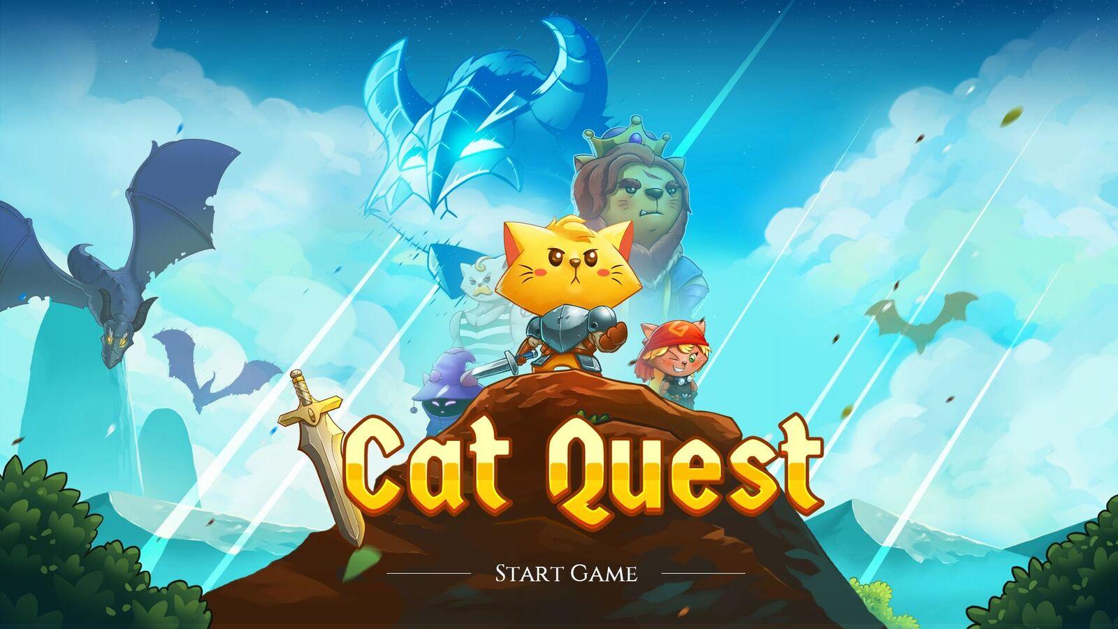 Cat Quest, un RPG muy felino, llega en exclusiva a PS4 el 10 de noviembre