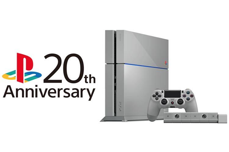 Sorteo solidario de una exclusiva #PlayStation4 edición 20 Aniversario
