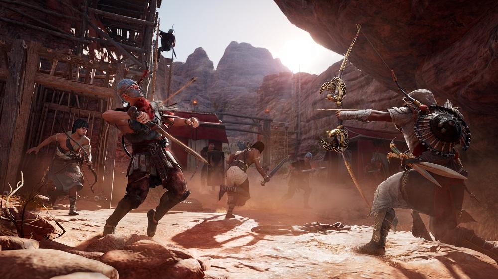 """""""The Hidden Ones"""", el primer contenido descargable (DLC) de Assassin's Creed Origins, se lanzará el próximo 23 de enero de 2018 en todas las plataformas."""
