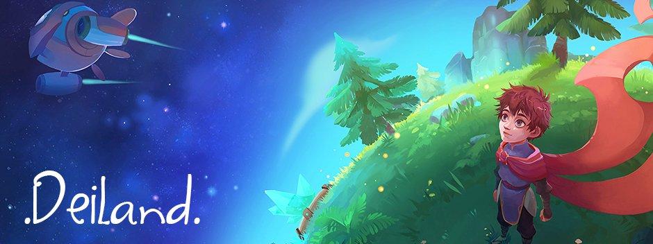 El videojuego español Deiland llega a PlayStation 4 el 1 de marzo