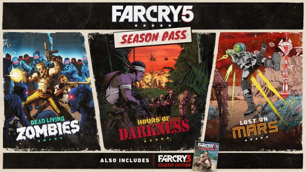 Ya conocemos los primeros detalles del Season Pass de Far Cry 5