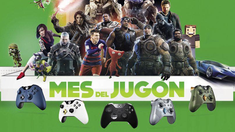 """Vuelve el """"Mes del jugón"""" con Xbox"""
