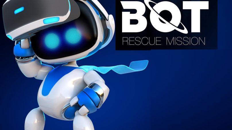 Astro Bot Rescue Mission para PlayStation VR estará disponible el 3 de octubre