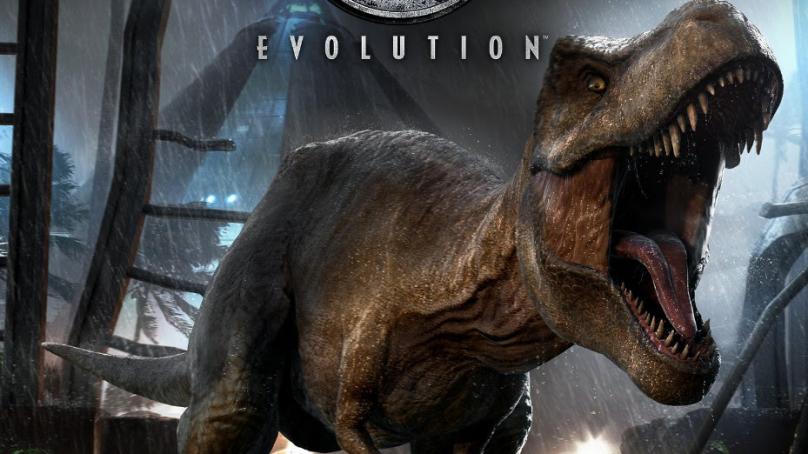 Lanzamiento de Jurassic World Evolution (formato físico)
