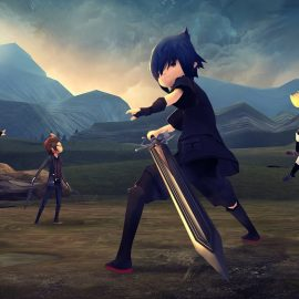 Ya disponible Final Fantasy XV Pocket Edition para Switch