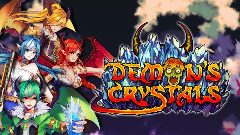 Demons Crystals ya esta disponible en la e-shop de Nintendo Switch Europa