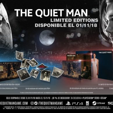 The Quiet Man se lanzará en PS4 y Steam el 1 de noviembre
