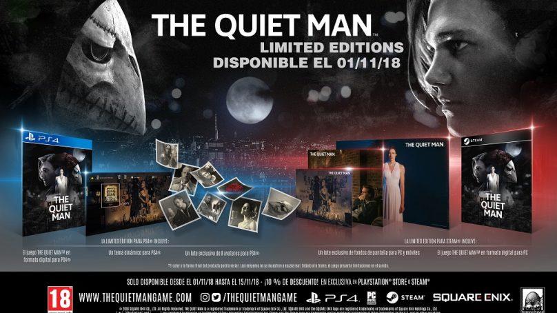 The Quiet Man se lanzará en PS4 y Steam el 1 de noviembre