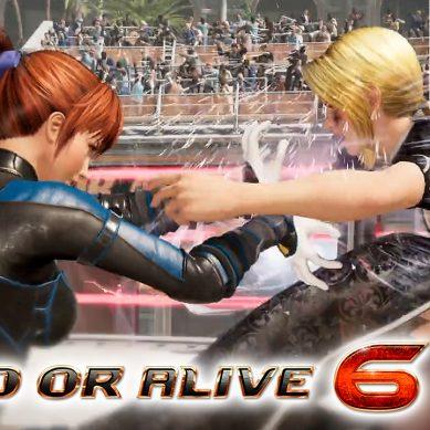 NiCO nuevo personaje debutante en Dead or Alive 6