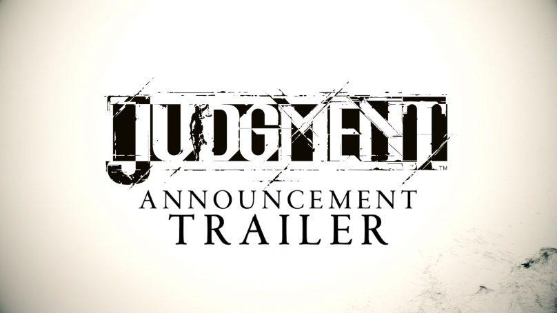 Confirmado el estreno de Judgment (anteriormente Project JUDGE) en el verano de 2019 con audio dual en Occidente