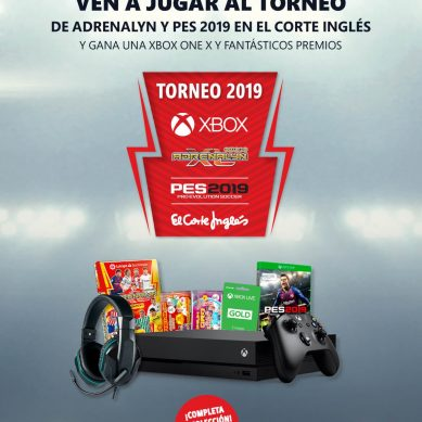 Llegan los Torneos Xbox, Adrenalyn y El Corte Inglés