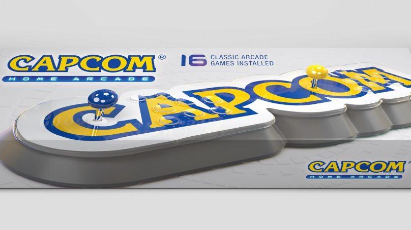 Anunciada la recreativa de sobremesa Capcom Home Arcade