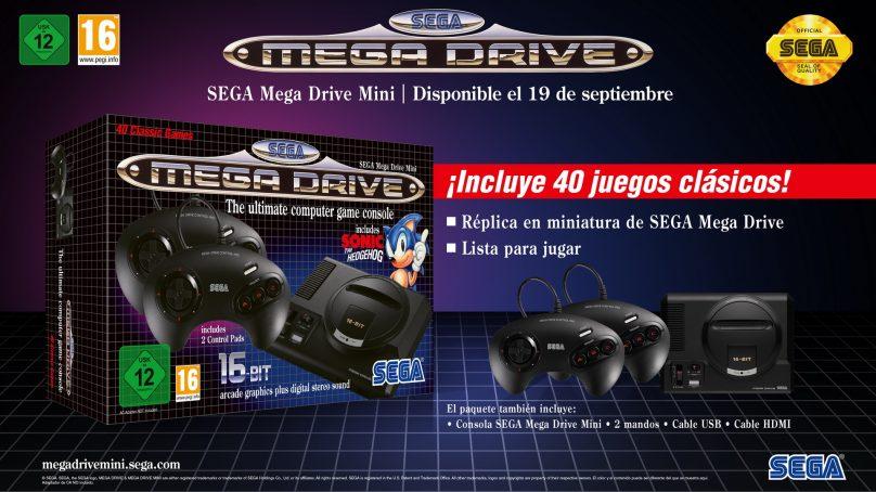 Más clásicos confirmados para SEGA Mega Drive Mini