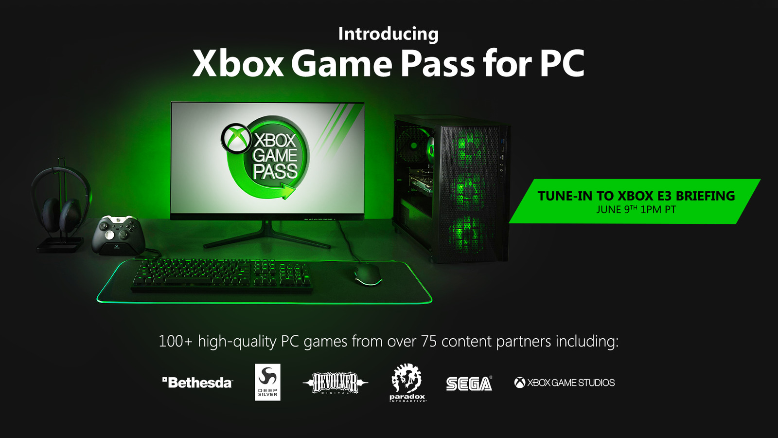 Anunciado Xbox Game Pass para PC