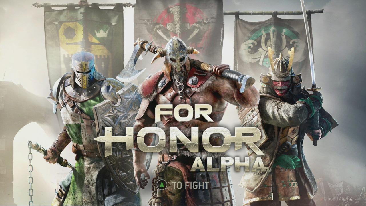 Impresiones beta cerrada For Honor