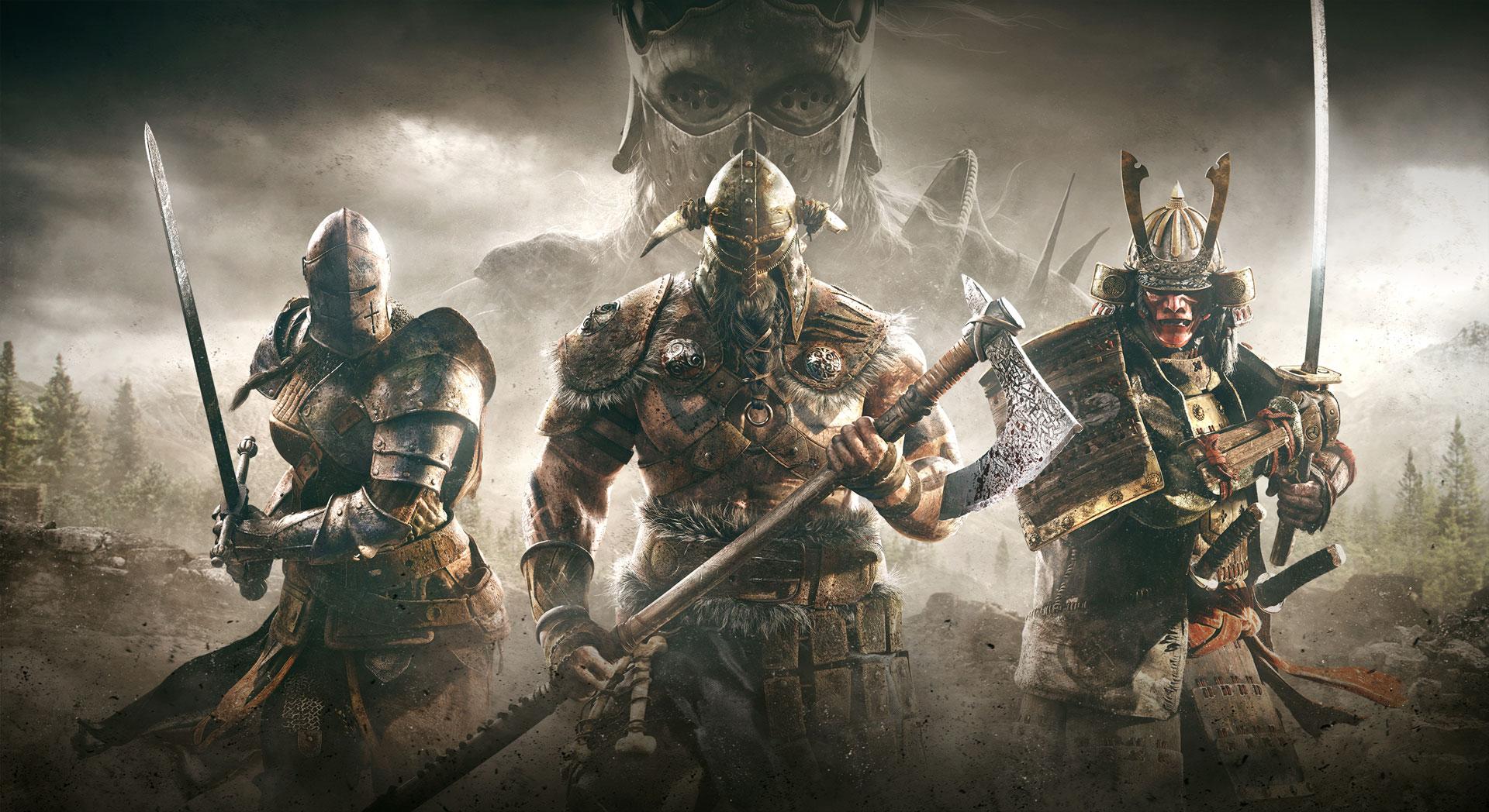 La beta cerrada de For Honor tiene fecha: del 26 al 29 de enero